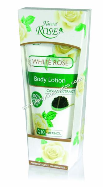 БОДИ ЛОСИОН ORGANIC WHITE ROSE